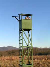 Observation Tower at Cumberland Mountain Farm